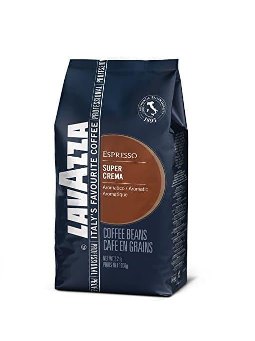 Coffee Beans Lavazza Super Crema Whole Bean Coffee Blend