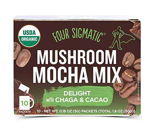 Four Sigmatic Mashroom Mocha coffeeinblog