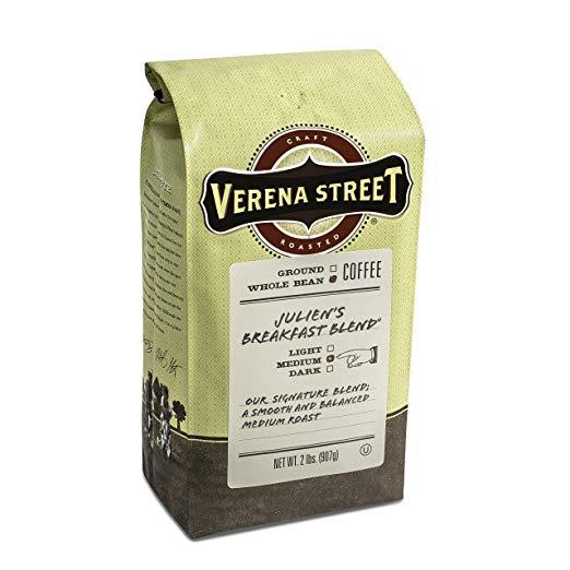 Verena Street 2 Pound Whole Coffee beans