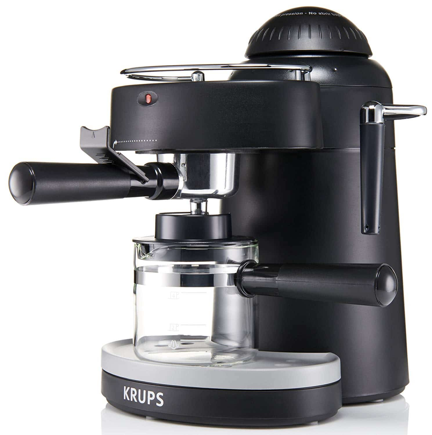 KRUPS XP1000 Steam Espresso Machine Coffeeinblog