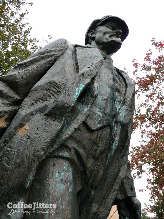 Lenin statue in fremont - CoffeeJitters.Net