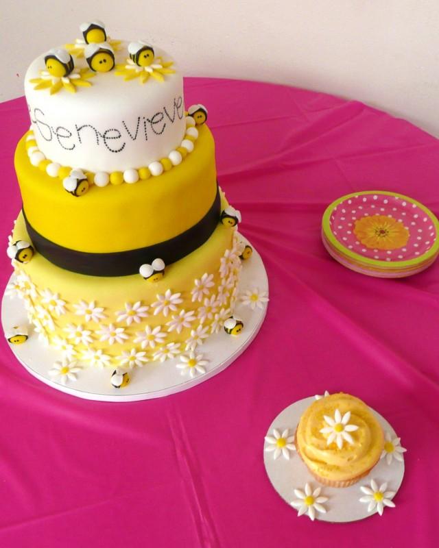 Bumble Bees and Daisies