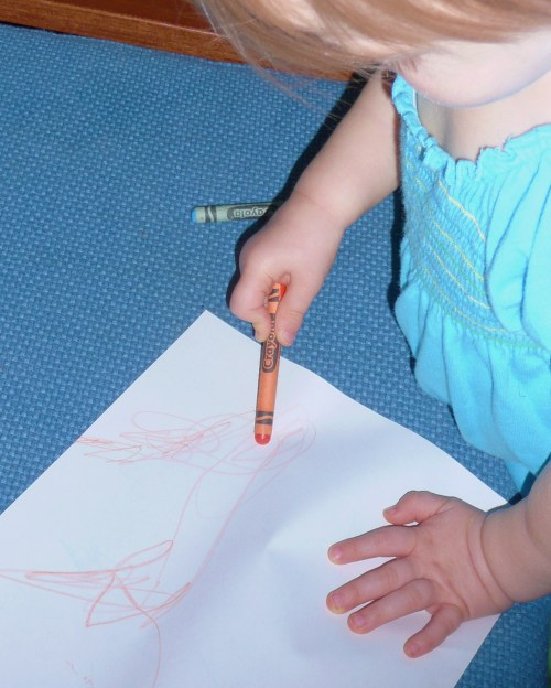 baby coloring