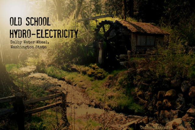 Old school hydro-electricity