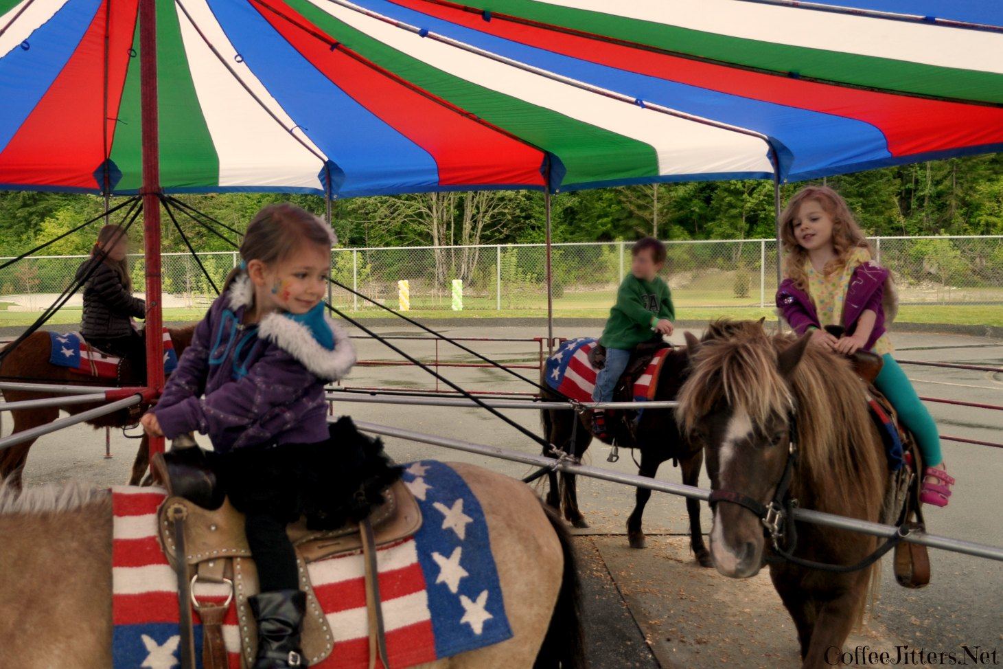 How she got a carnival with pony rides for her 4th birthday