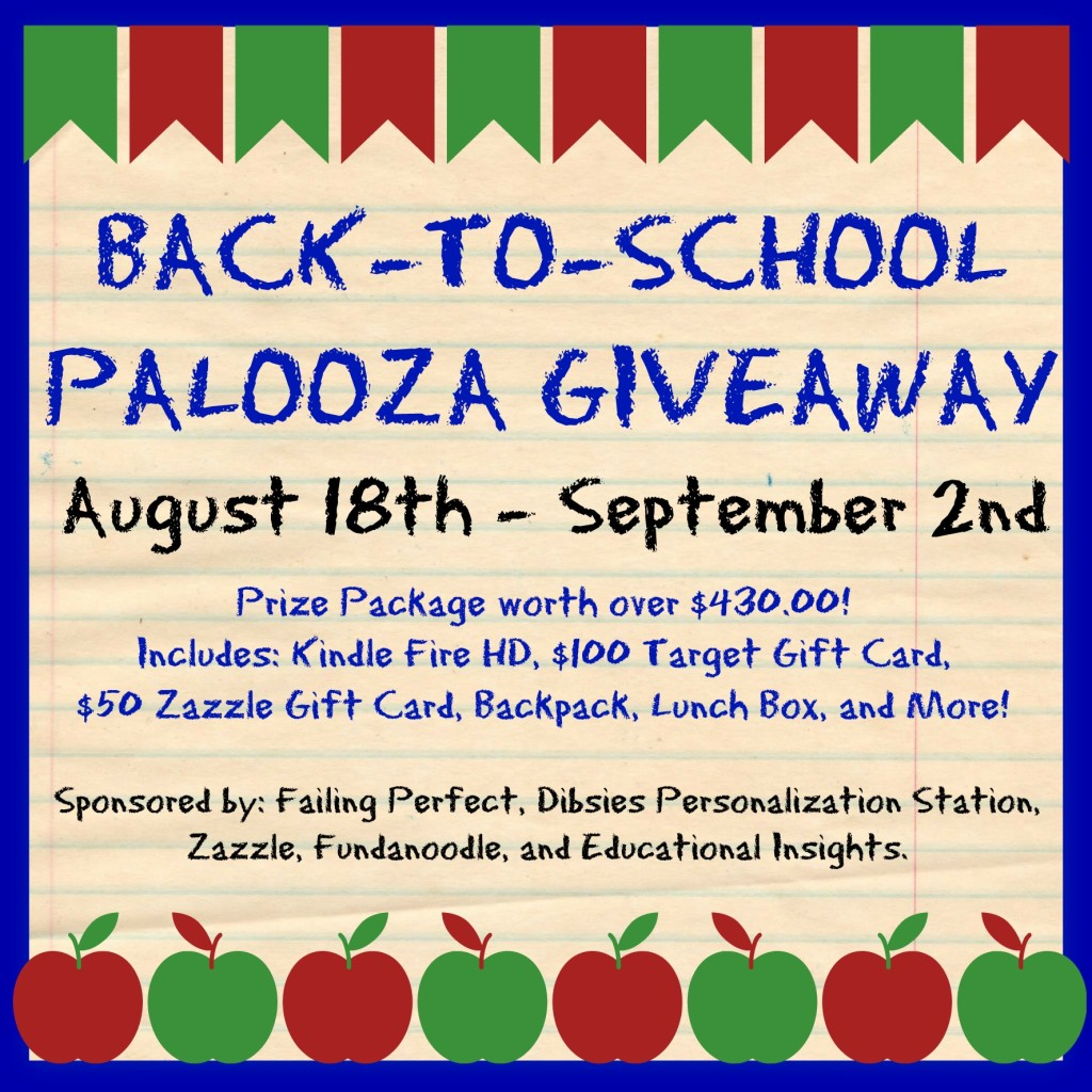 Giveaway: Back-to-School Palooza