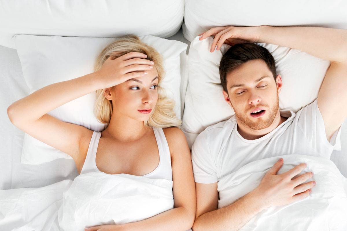 What's behind snoring? Find out, sleep better