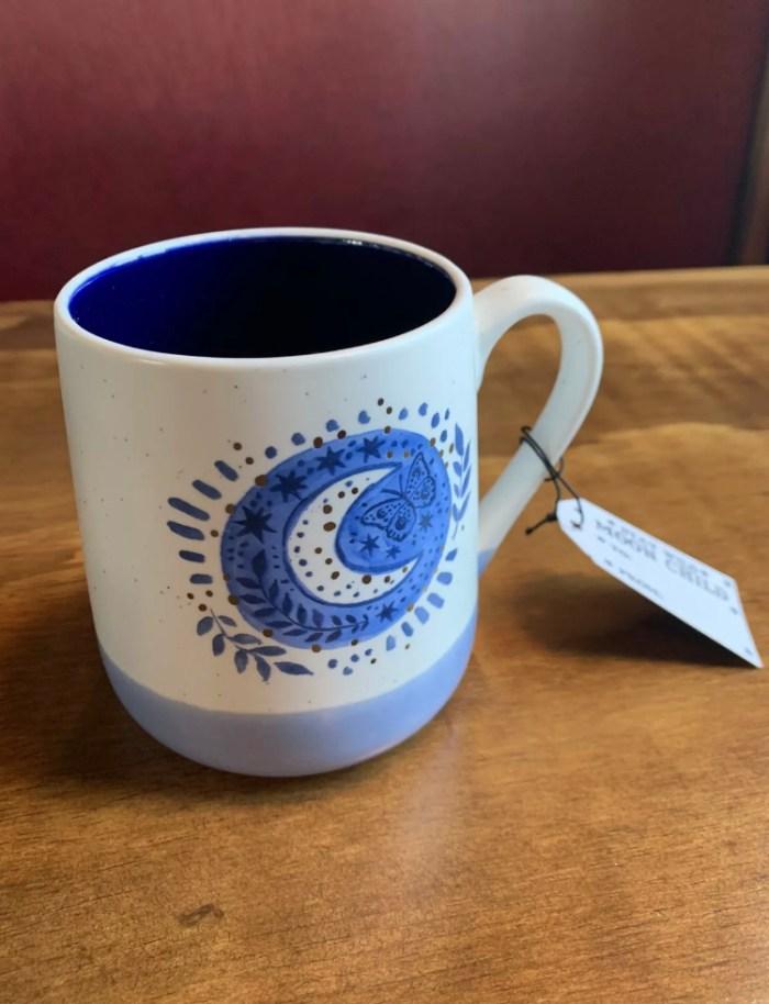 coffee, moon worship, wiccan, spiritual, coffee mug