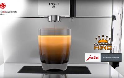 Jura ENA 8 wins the Red Dot Design Award
