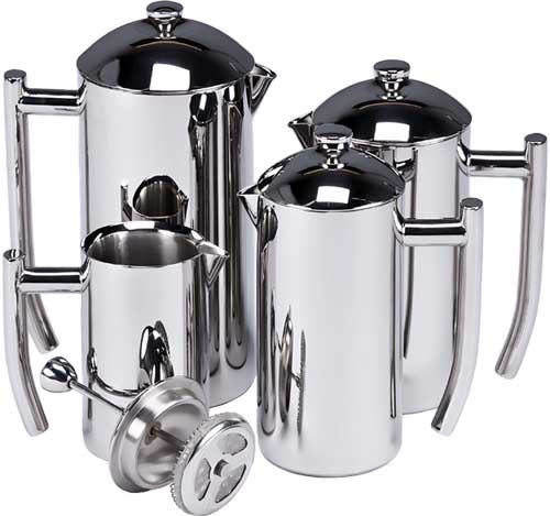 Kết quả hình ảnh cho Frieling Brushed Stainless Steel French Press, 8-ounce