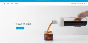 blue bottle coffee branding