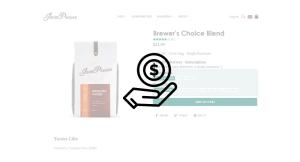 selling coffee online