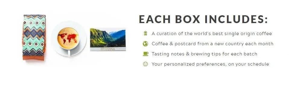 atlas coffee club subscription writing