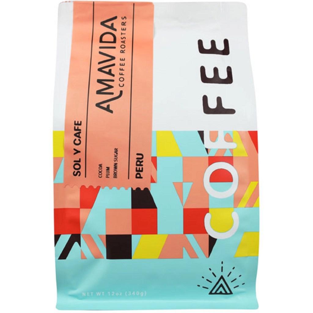 Amavida Coffee Branding