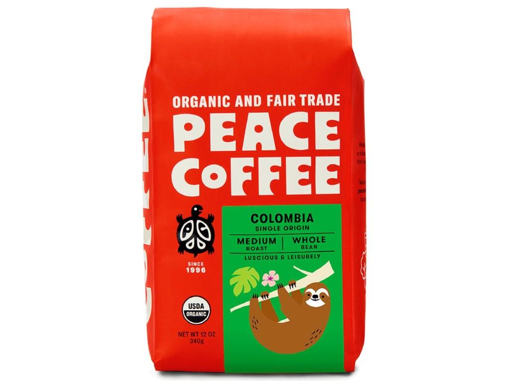 Peace Coffee Packaging