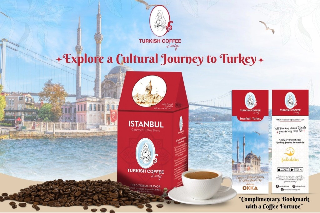 Turkish Coffee Lady Bag