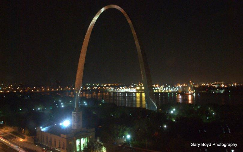 Nighttime Arch