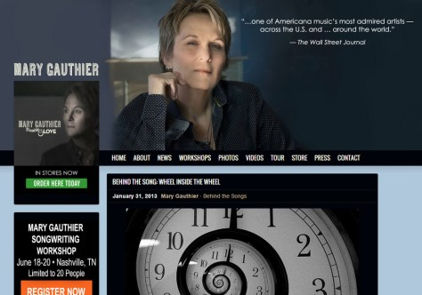 The Story Behind Wheel Inside The Wheel By Mary Gauthier