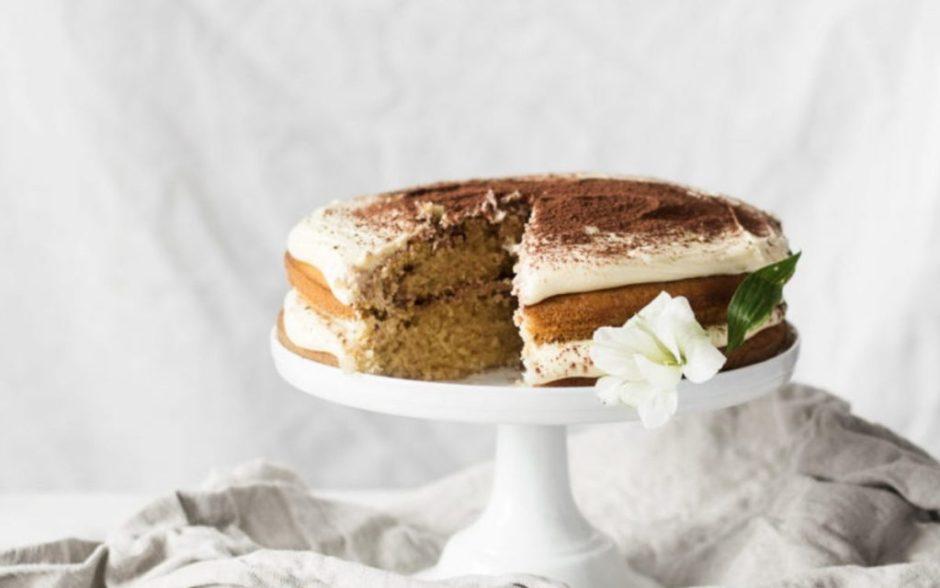 Tiramisu Cake [Vegan]