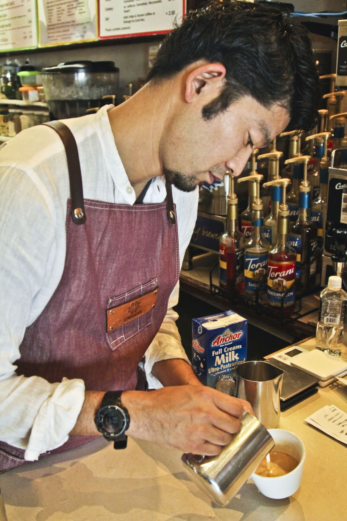 Japan's best barista comes to Guam coffee shops