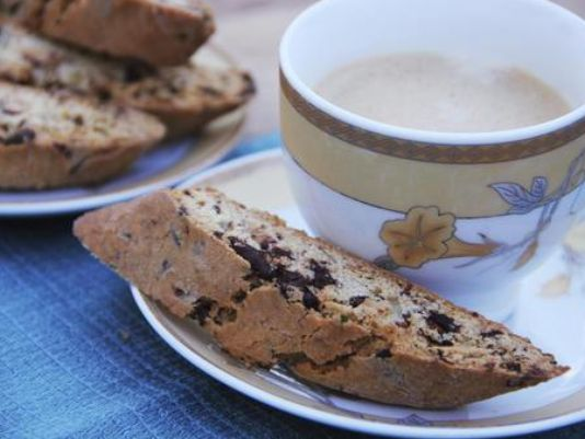 Chocolate and Rosemary Biscotti Receipe for Your Coffee