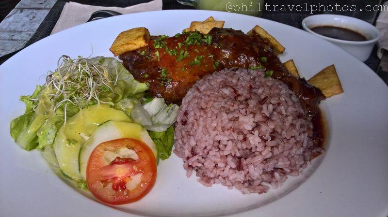 satinka naturals baked chicken adobo
