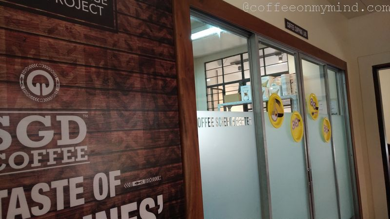 sgd coffee science center door
