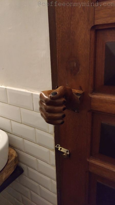 sgd coffee bathroom handle