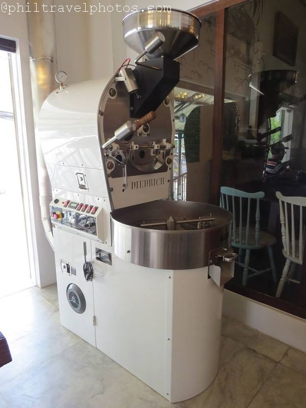 the giving cafe diedrich roaster