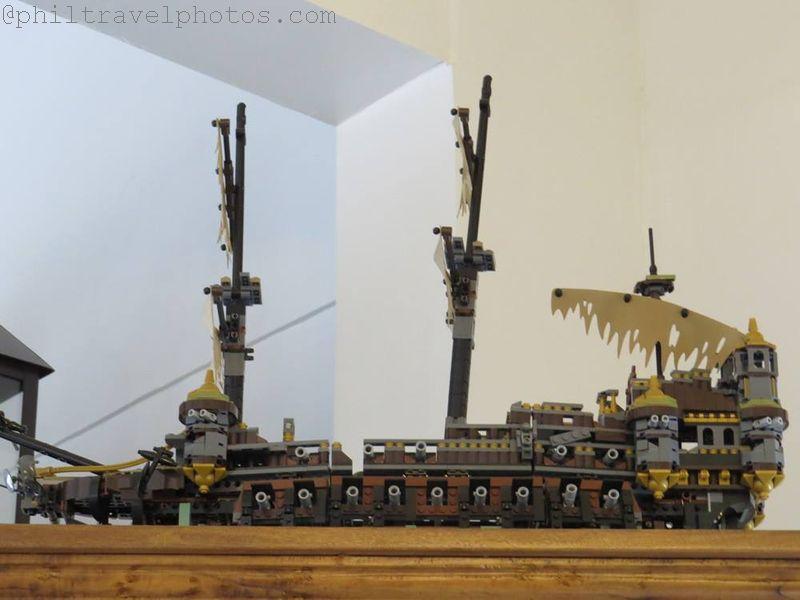 the giving cafe lego ship