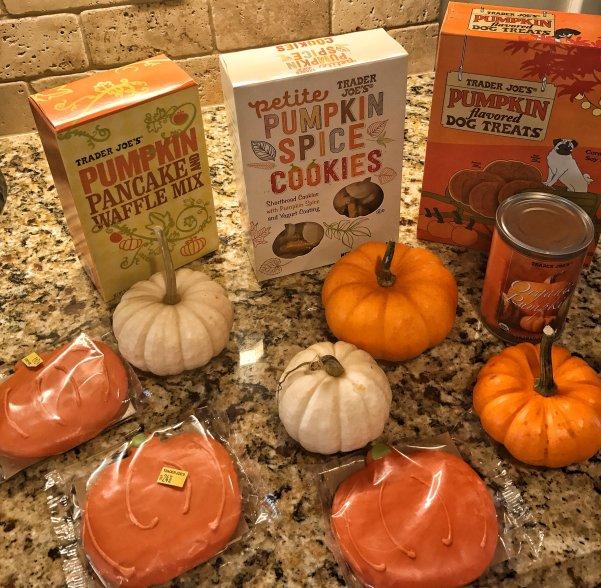 Favorite Trader Joe Pumpkin Products