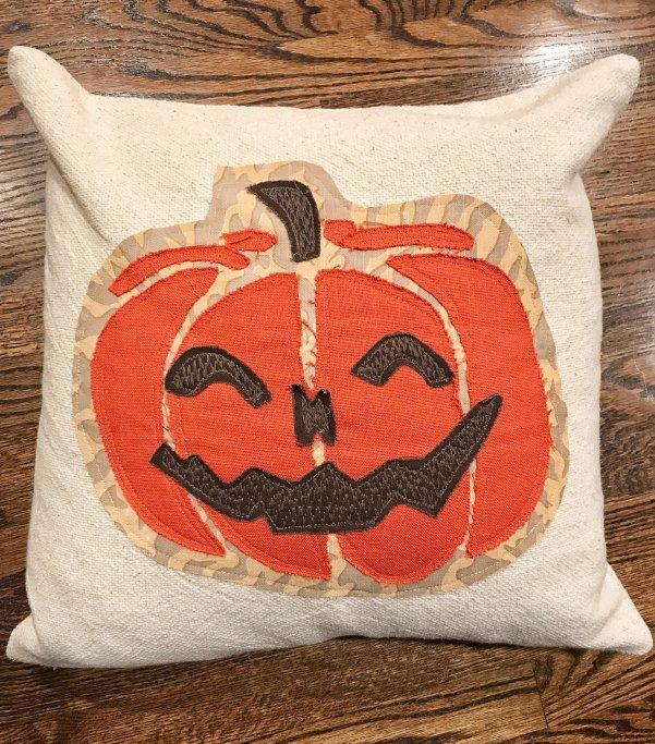Halloween Farmhouse PIllow