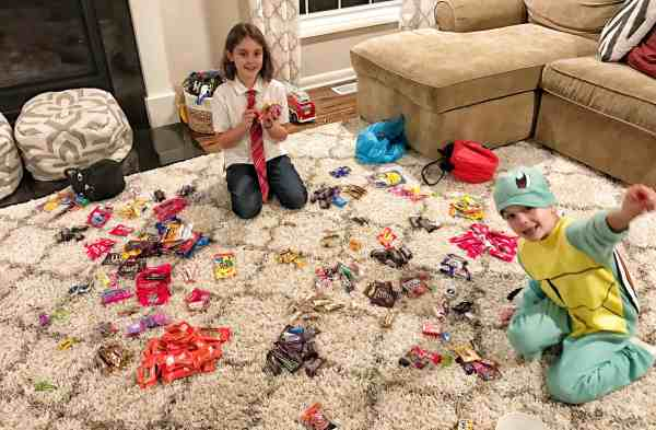 What to do with Halloween Candy