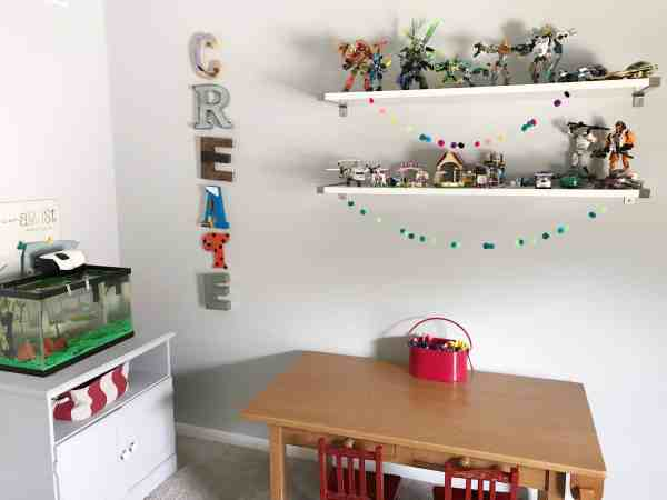 Creating a Kids Art Room