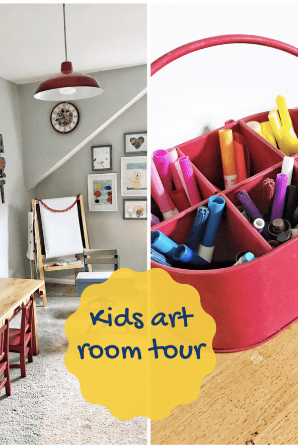 kids craft room ideas