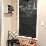 Thankful Chalkboard & Keeping it Simple