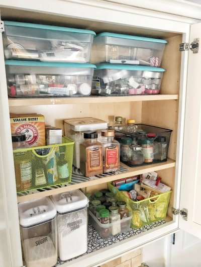 Organizing Baking Supplies