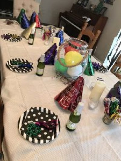 NYE Tablescape