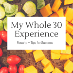 Whole 30 Results and Recap