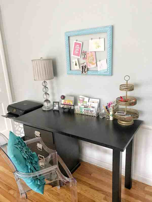 Home Office Ideas #organization #homeoffice
