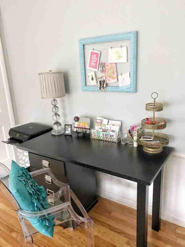 Home Office Ideas #organization #homeoffice