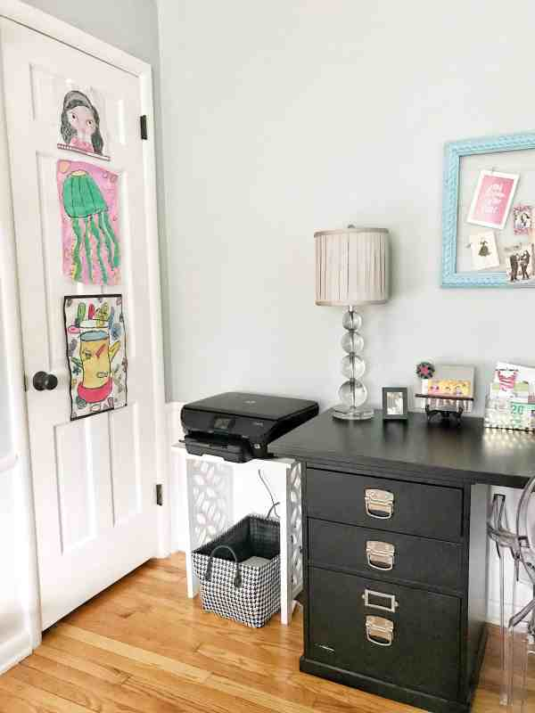 Home Office Organization #homeoffice #officeorganization