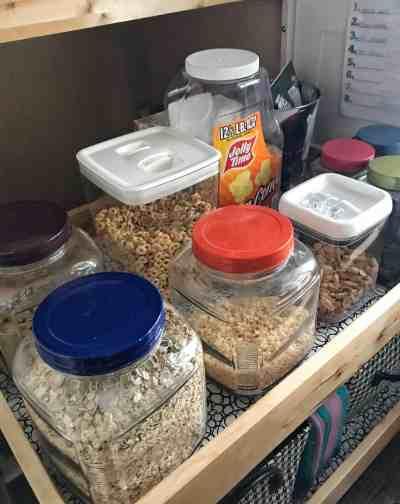 Cereal organization
