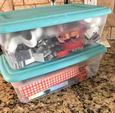 Baking Supplies Organization