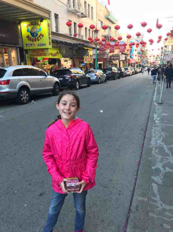 Trip to Chinatown in San Francisco