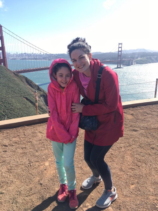 Visiting the Golden Gate Bridge with kids