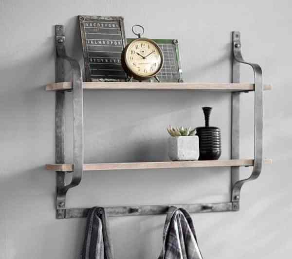 Maintain a Clutter Free Bathroom with Shelves