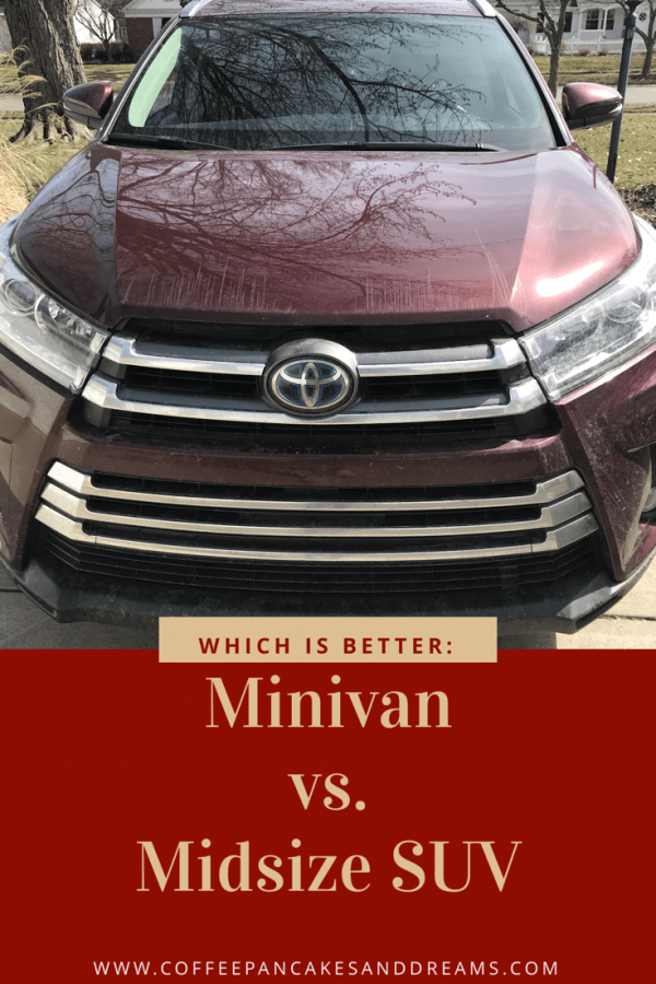 How to Decide Between a SUV or Minivan for Family Car