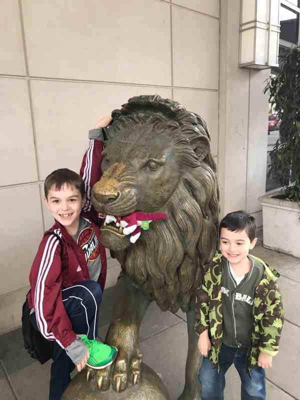 Taking Kids to DC for Spring Break