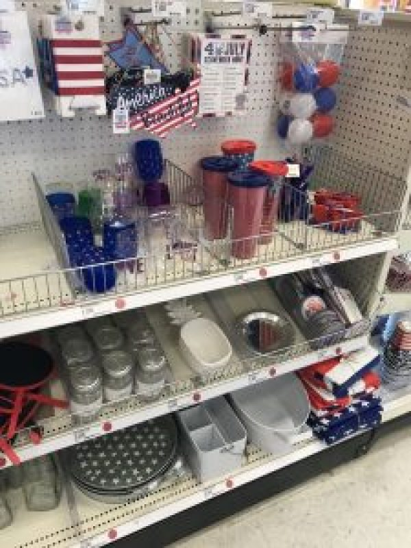 Red, White & Blue Target Finds